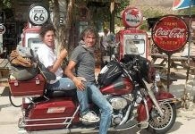 Franco e Andrea - I Bambini delle Fate moto viaggio harley usa