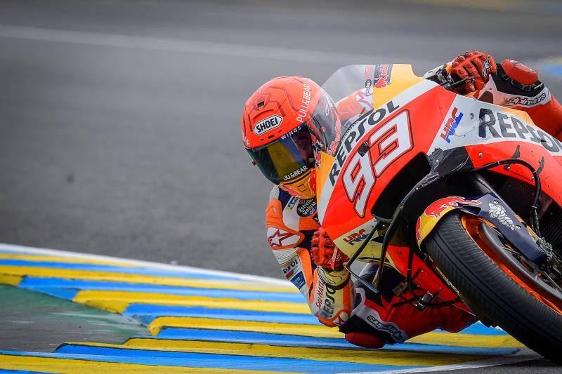 MotoGP Les Mans 2021 - Marc Marquez honda repsol