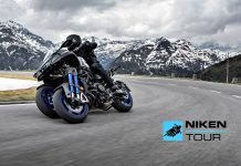 Yamaha Niken Tour 2021 gt prova test ride