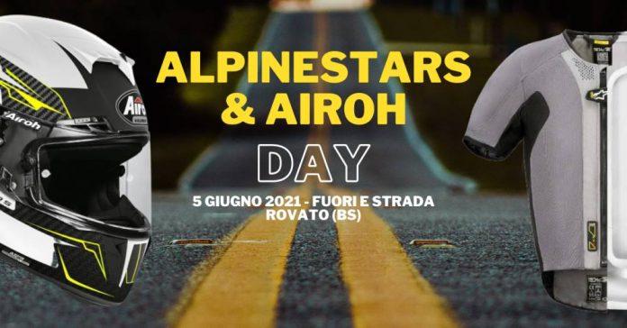 Alpinestara e Airoh Day tutto per la moto fuori e strada
