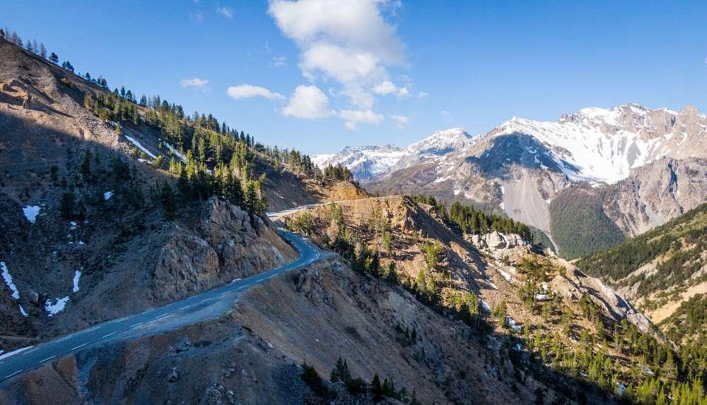 colle iseran col francia passi alpini itinerario moto bici percorso viaggio
