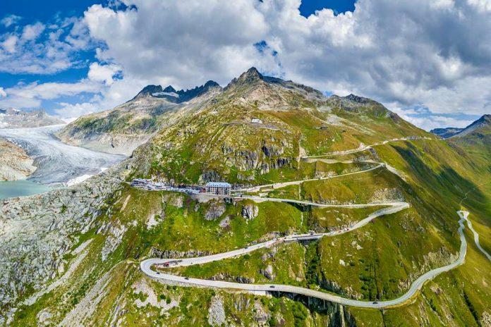 furkapass passo furka moto bici svizzera itinerario percorso informazioni info