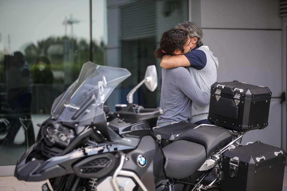 franco andrea bambini delle fate bmw motorrad gs viaggio europa autismo