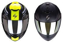 SCORPION EXO 1400 CARBON Air casco integrale viaggio carbonio moto maxi pista RACING