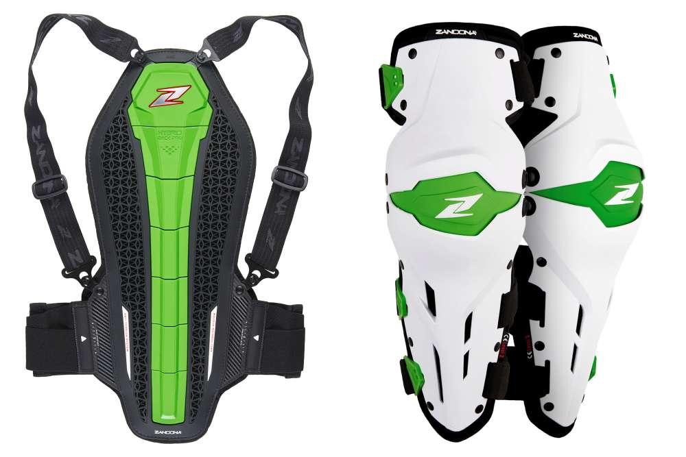 Zandona Hybrid Back Pro - X-Treme Kneeguard ginocchiere paraschiena
