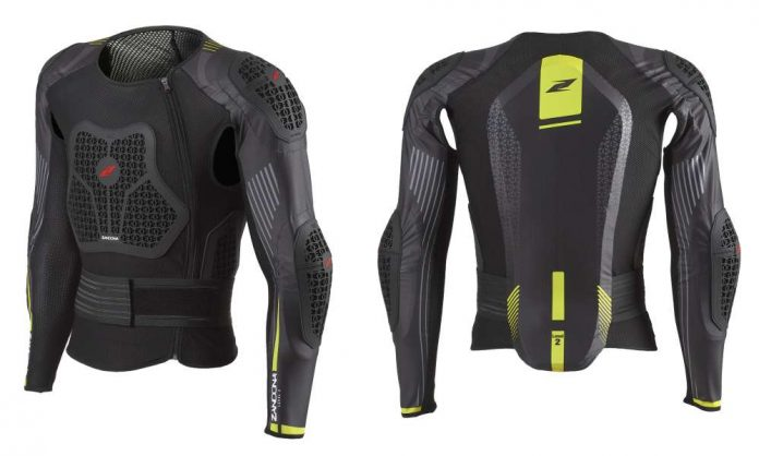 Zandona Netcube Jacket pettorina protezioni moto enduro motocross