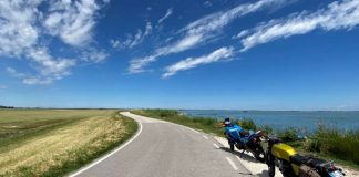 Il Delta del Po in moto bici auto itinerario percorso strada giro