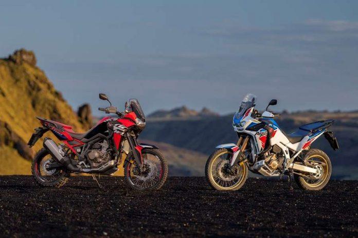 Nuove Honda CRF1100L Africa Twin e Adventure Sports 2022