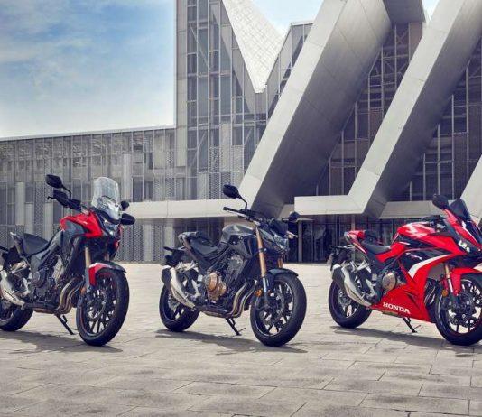 Honda CB500F, CBR500R e CB500X nuove 2022