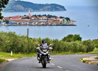 moto istria croazia itinerario weekend four points festival bici
