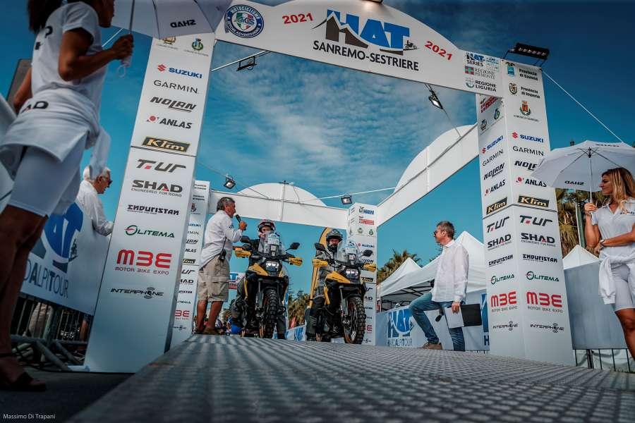 HAT Sanremo Sestriere 2021 maxi enduro adventure